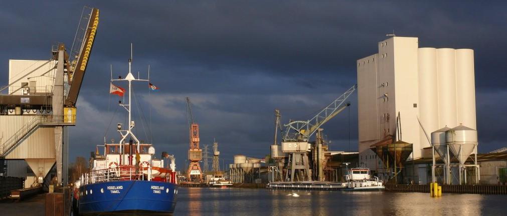 Der Hafen meiner Heimatstadt