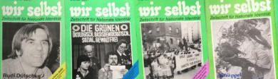 Zeitschrift wir selbst, bei der Roland Wehl mitarbeitete